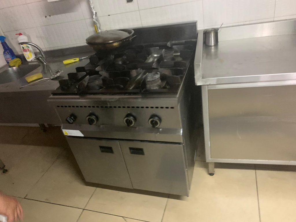 ikinci el krom mutfak malzemesi